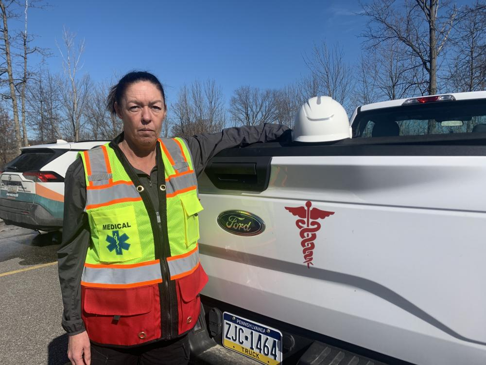 Pictured: Jane C., Onsite Territory Manager, at MMC's Westlake, OH office.